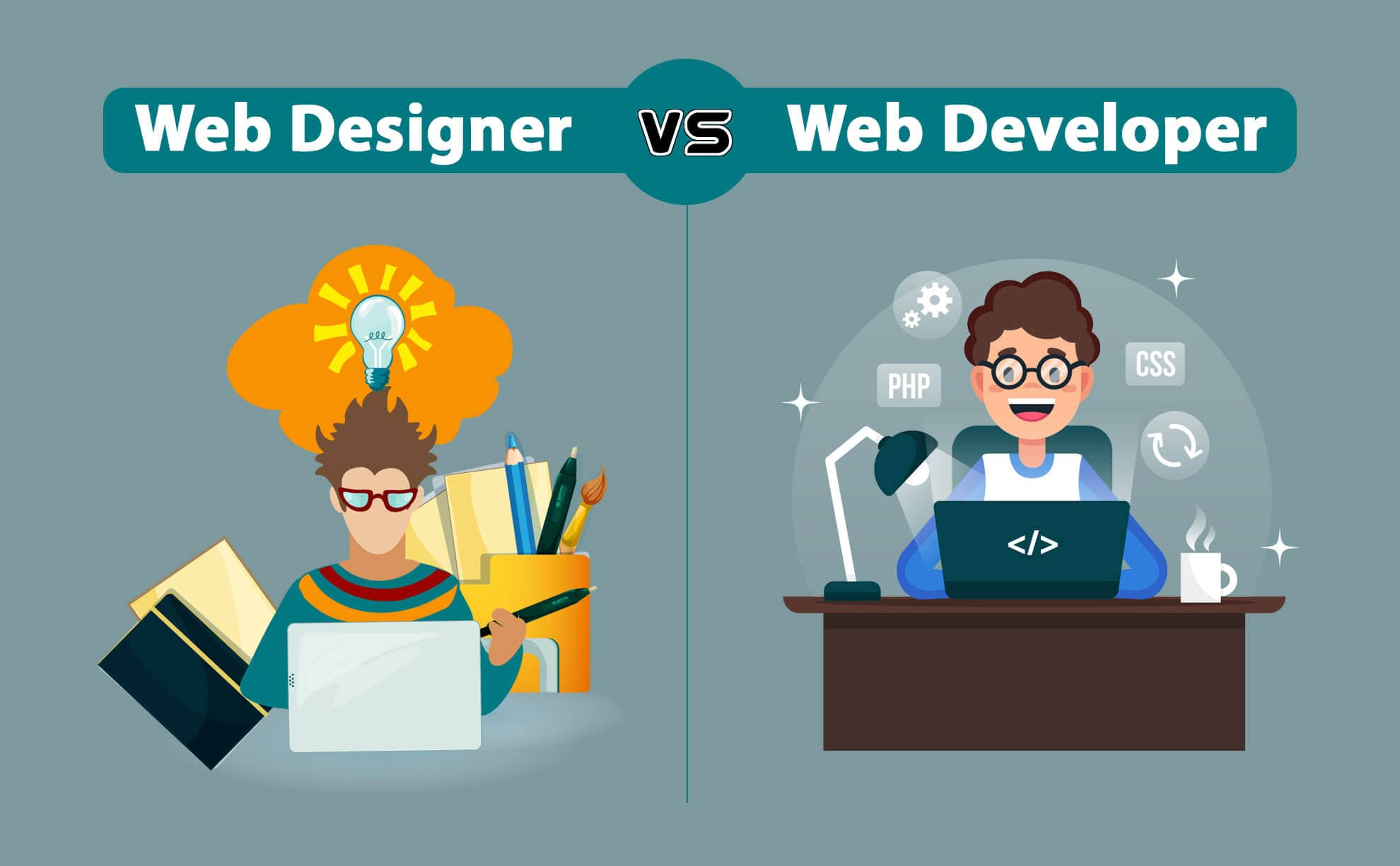 A honlapfejlesztés 3 szakembere: webfejlesztő, webdizájner és a SEO szakember. Mi a különbség?